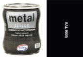 Vitex Heavy Metal Silikon - alkyd RAL 9005 2250ml ...
